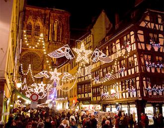 Un marché de Noël à Strasbourg